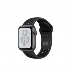 Apple Watch Nike+ Series 4 GPS + LTE 40mm Gray Alum. w. Anthracite/Black Nike Sport b. Gray Alum. (MTXG2)