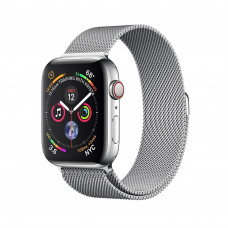 Apple Watch Series 4 GPS + LTE 44mm Steel w. Milanese l. Steel (MTV42)