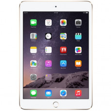 Apple iPad mini 3 Wi-Fi + LTE 128GB Gold (MH3N2, MGYU2)