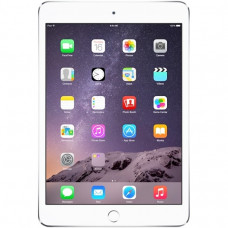 Apple iPad mini 3 Wi-Fi + LTE 128GB Silver (MH3M2, MGJ32) CPO