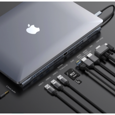 Baseus Enjoyment Series USB Type-C Hub 11 in 1