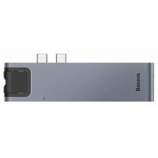 Baseus Thunderbolt C+Pro 7-in-1 Smart HUB Gray (CAHUB-L0G)