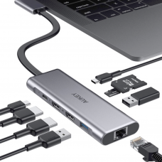AUKEY 9-in-2 USB-C Hub (CB-C81)