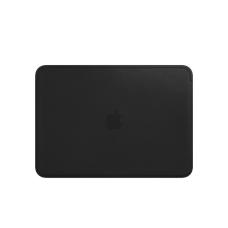 """Apple Leather Sleeve for 12"""" MacBook - Black (MTEG2)"""