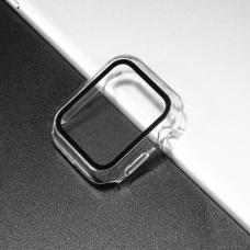 Чехол для умных часов Apple Watch 40mm Matte Transparent
