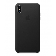 Apple iPhone XS Max Leather Case - Black (MRWT2)