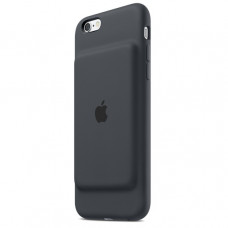 Apple iPhone 6s Smart Battery Case - Charcoal Gray MGQL2