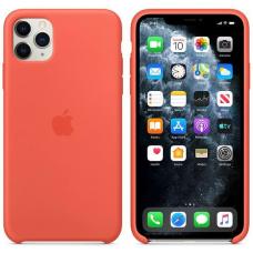 Apple iPhone 11 Pro Max Silicone Case - Clementine/Orange (MX022)