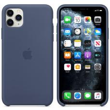 Apple iPhone 11 Pro Max Silicone Case - Alaskan Blue (MX032)
