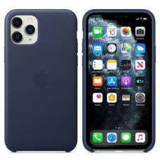 Apple iPhone 11 Pro Leather Case - Midnight Blue (MWYG2)