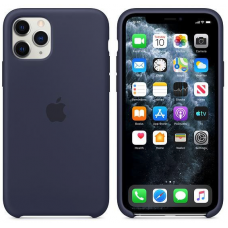 Apple iPhone 11 Pro Silicone Case - Midnight Blue (MWYJ2)