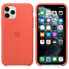 Apple iPhone 11 Pro Silicone Case - Clementine/Orange (MWYQ2)