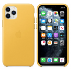 Apple iPhone 11 Pro Leather Case - Meyer Lemon (MWYA2)
