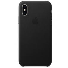 Apple iPhone XS Leather Case - Black (MRWM2)