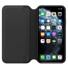 Apple iPhone 11 Pro Leather Folio - Black (MX062)