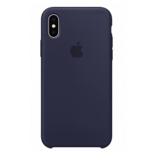 Apple iPhone X Silicone Case - Midnight Blue (MQT32)