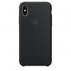 Apple iPhone X Silicone Case - Black (MQT12)
