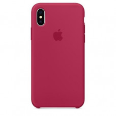 Apple iPhone X Silicone Case - Rose Red (MQT82)