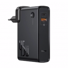 Baseus GaN 2-in-1 Quick Charger + Power Bank 10000mAh 45W PPNLD-C01 Black (PPNLD45UE)