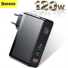 Baseus GaN Mini Quick Charger 120W Black (CCGAN-J01)