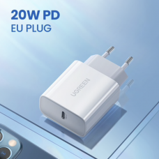 UGREEN Fast Charging Power Adapter with PD 20W (CD137)
