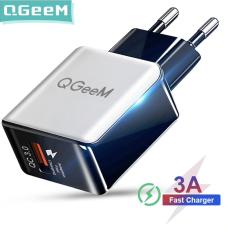Адаптер питания QGeeM с поддержкой быстрой зарядки 3.0, 18 Вт
