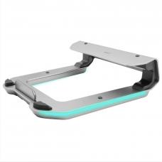 Macally Laptop Riser With 4-Port USB 3.0 HUB and RGB Lighting (MHUBSTAND)