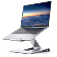 Lamicall Laptop Stand Adjustable Notebook Riser Silver
