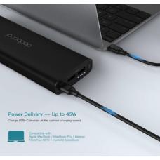 Внешний аккумулятор dodocool Power Bank 20100mAh Portable Charge for MacBook