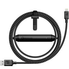 Кабель Lightning NOMAD Battery Cable Black 1.5m (BATTERY-CABLE-LIGHTNING)
