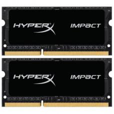 Kingston 16 GB (2x8GB) SO-DIMM DDR3L 1866 MHz HyperX Impact (HX318LS11IBK2/16)