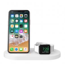 Belkin Qi Wireless iWatch (1A) + iPhone (7.5W) + USB-A 5W/1A (F8J235VFWHT)