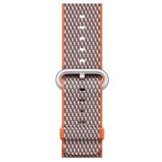Apple Watch 38mm Spicy Orange Woven Nylon (MQVE2)