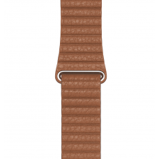 Apple Watch Leather Loop Saddle Brown / Large 44 mm MXAG2