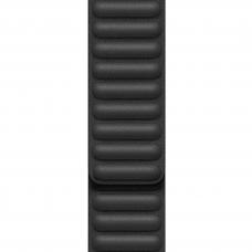 Apple Black Leather Link M/L (MY9N2) для Apple Watch для Watch 42mm/44mm
