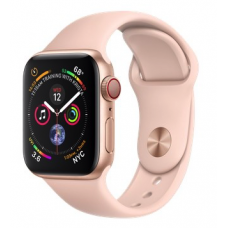 Apple Watch Series 4 GPS + LTE 40mm Gold Alum. w. Pink Sand Sport b. Gold Alum. (MTUJ2, MTVG2)