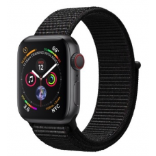 Apple Watch Series 4 GPS + LTE 40mm Gray Alum. w. Black Sport l. Gray Alum. (MTUH2, MTVF2)