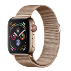 Apple Watch Series 4 GPS + LTE 40mm Gold Steel w. Gold Milanese l. Gold Steel (MTUT2; MTVQ2)
