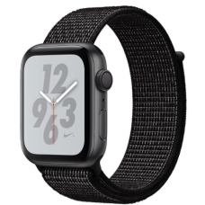 Apple Watch Nike+ Series 4 GPS 44mm Gray Alum. w. Black Nike Sport l. Gray Alum. (MU7J2)