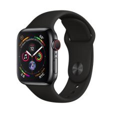 Apple Watch Series 4 GPS + LTE 40mm Black Steel w. Black Sport b. Black Steel (MTUN2, MTVL2)