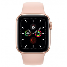 Apple Watch Series 5 GPS 40mm Gold Aluminum w. Pink Sand b.- Gold Aluminum (MWV72)