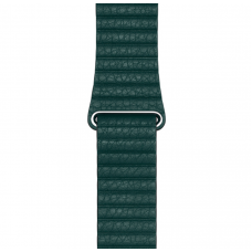 Apple Ремешок Forest Green Leather Loop Large для Watch 42mm/44mm (MTH82)