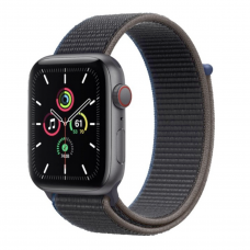 Apple Watch SE GPS + Cellular 44mm Space Gray Aluminum Case with Charcoal Sport L. (MYEU2/MYF12)